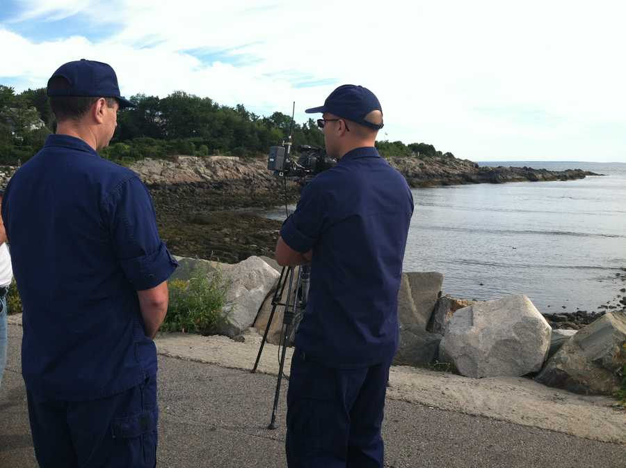 A search is under way off the coast of Ogunquit for a missing boater.