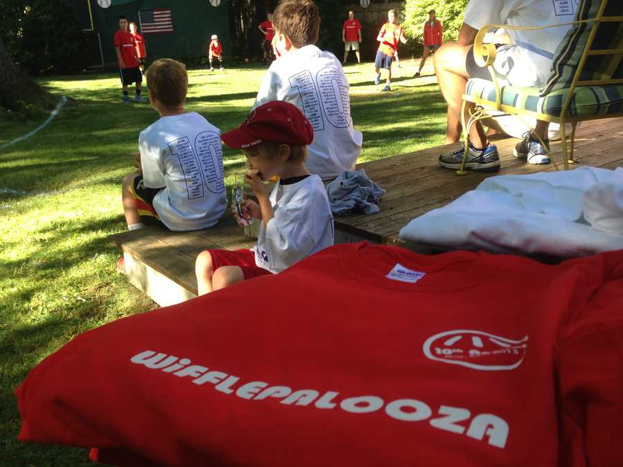 Wifflepalooza raised money for the children's library at the Thomas Memorial Library.