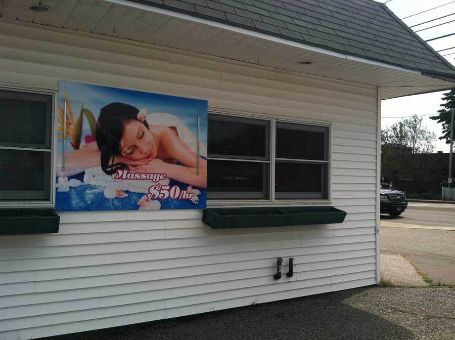South Portland police said they ordered a massage business to shut down because of accusations of suspicious or inappropriate activities.