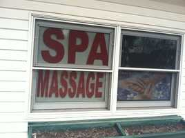 Police said they issued letters to the owner and manager of the Red Stone Spa, at 585 Broadway, notifying them that they were in violation of the city's massage establishment/massage therapist regulatory ordinance and adult use establishment license ordinance.