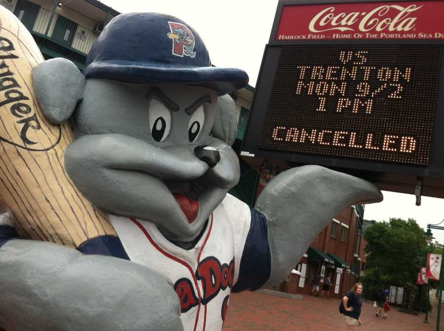 The Portland Sea Dogs final game of the season was canceled on Monday due to the rain.