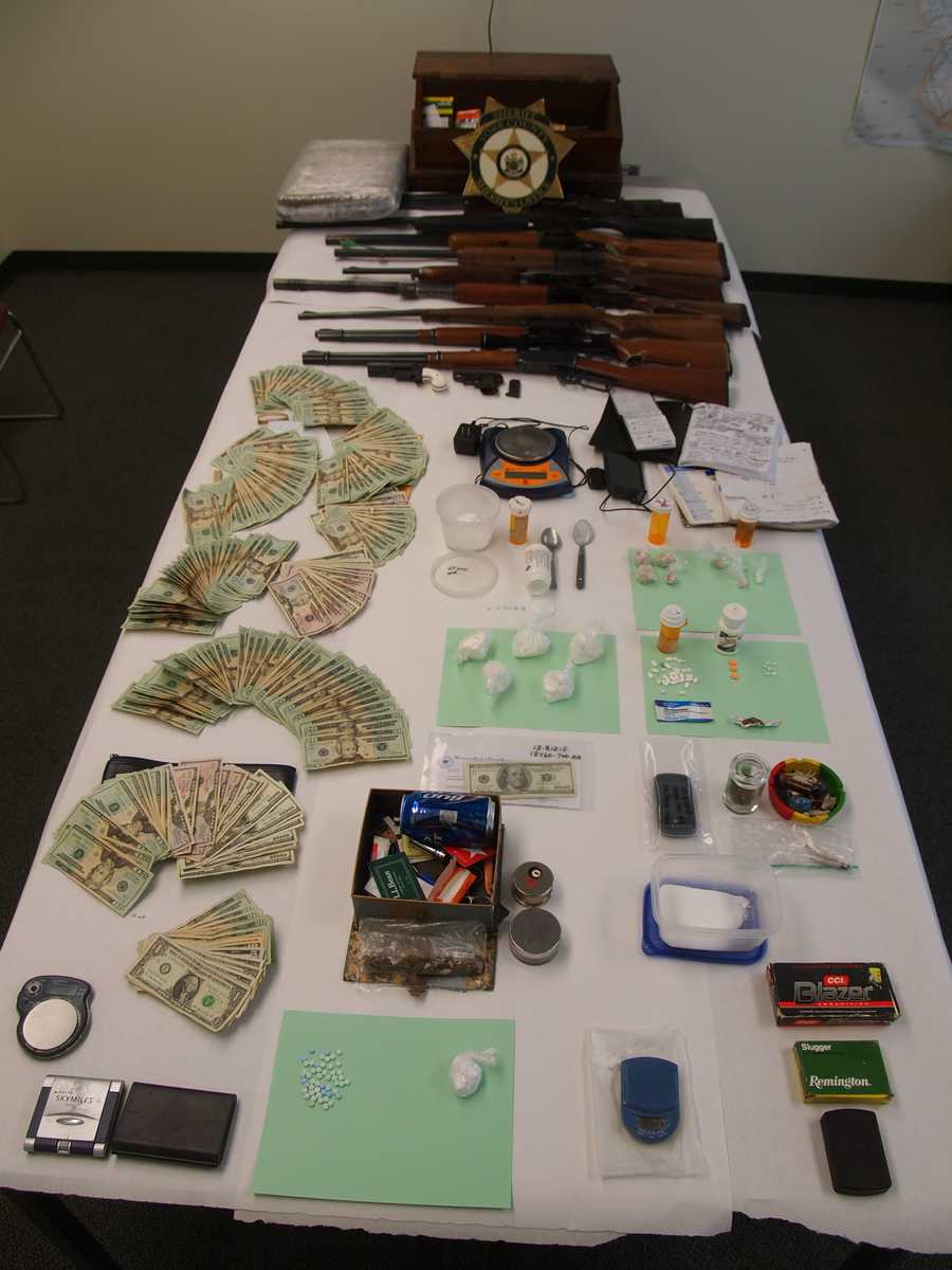 The York County Sheriff's Department and Kennebunk police said they busted a drug operation in Kennebunk on Tuesday.
