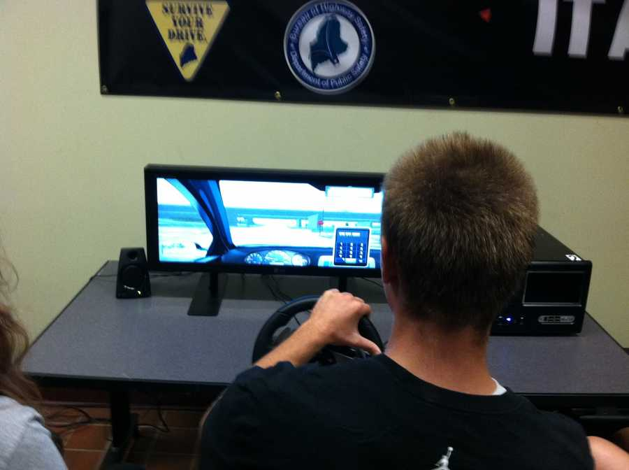 The Maine Bureau of Highway Safety purchased the simulator through a federal grant