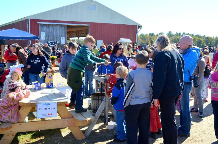 Wolfe's Neck Farm will hold its annual Fall Festival on Oct. 12. Click here for more information.