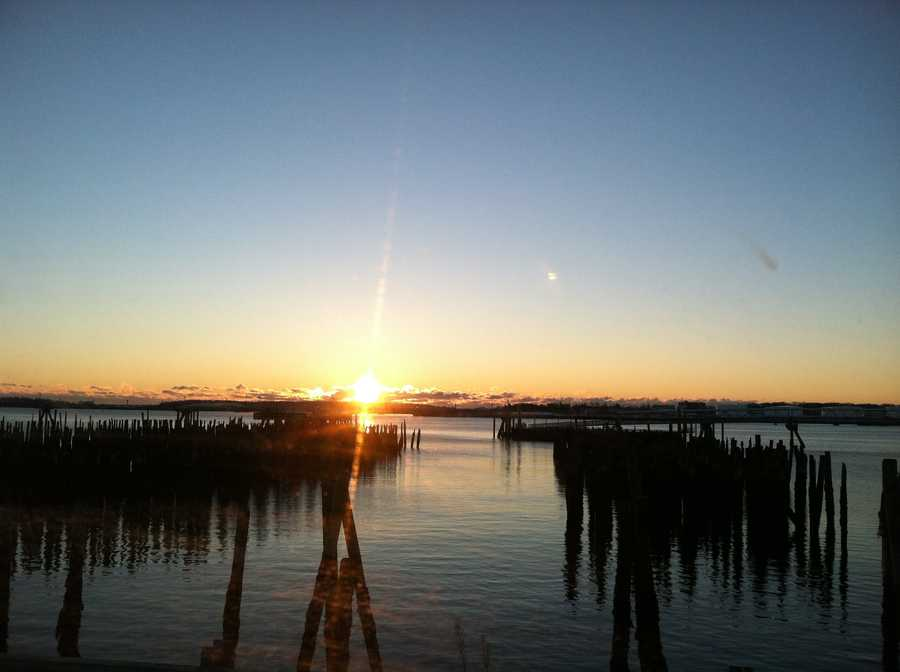 Portland Harbor, October 2012
