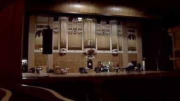 Portland's famous Kotschmar Organ has been undergoing a lot of repairs. Click through to get an inside like of the organ as the work continues.