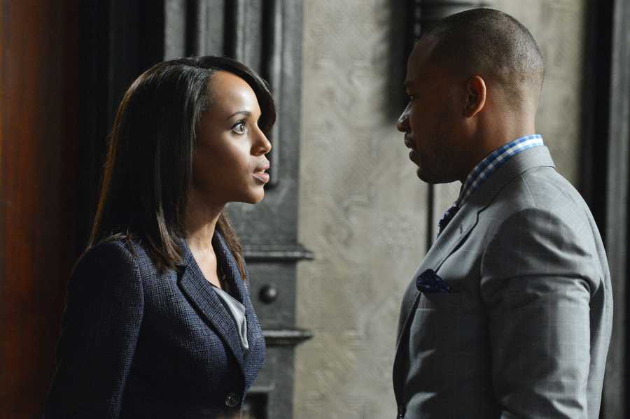 "With Olivia's name out there as the President's mistress, both the White House and Pope & Associates face their biggest scandal to date, and a surprise allegiance is formed in order to get things handled. Meanwhile, Olivia's father, Rowan, will stop at nothing to carry out his orders and no one, including Olivia, can stand in his way, on the Season 3 Premiere of ""Scandal""."