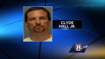 Clyde Hall Jr was a wanted fugitive who was arrested in Maine.