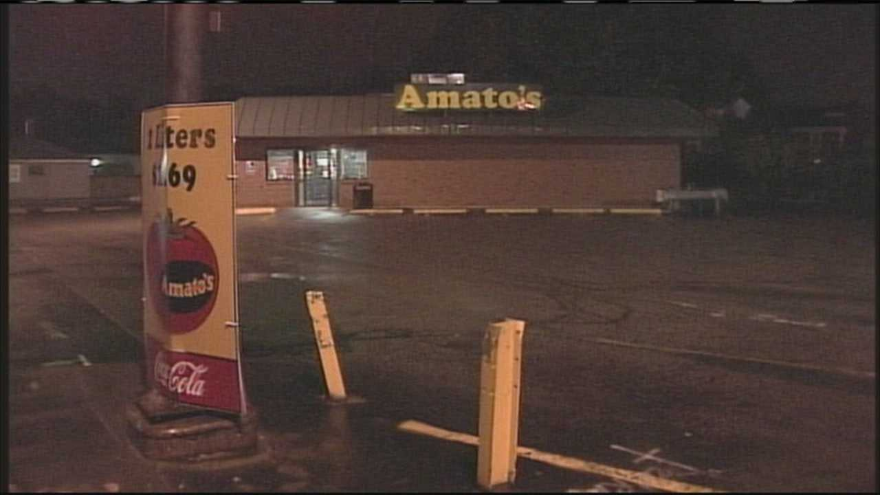 Police say two Amato's employees were robbed shortly after they left work for the night.