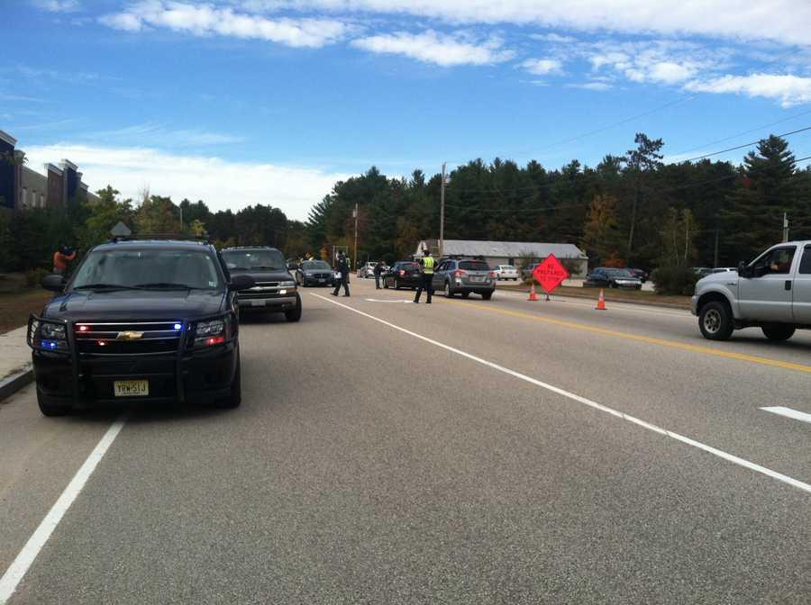 Police set up roadblocks on Friday asking if anyone had seen Hernandez.