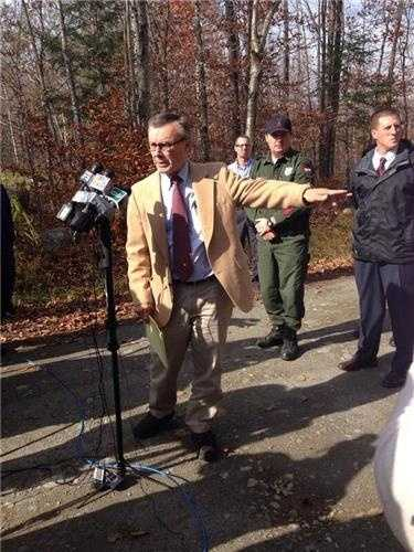 Police said in a Wednesday afternoon news conference that they did not find Reynolds.