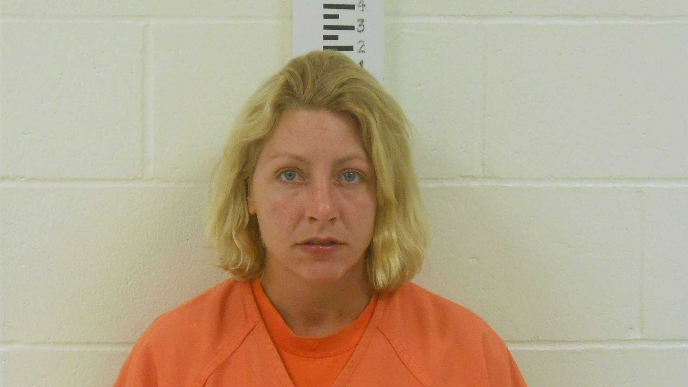 Christina Larrivee is charged with burglary