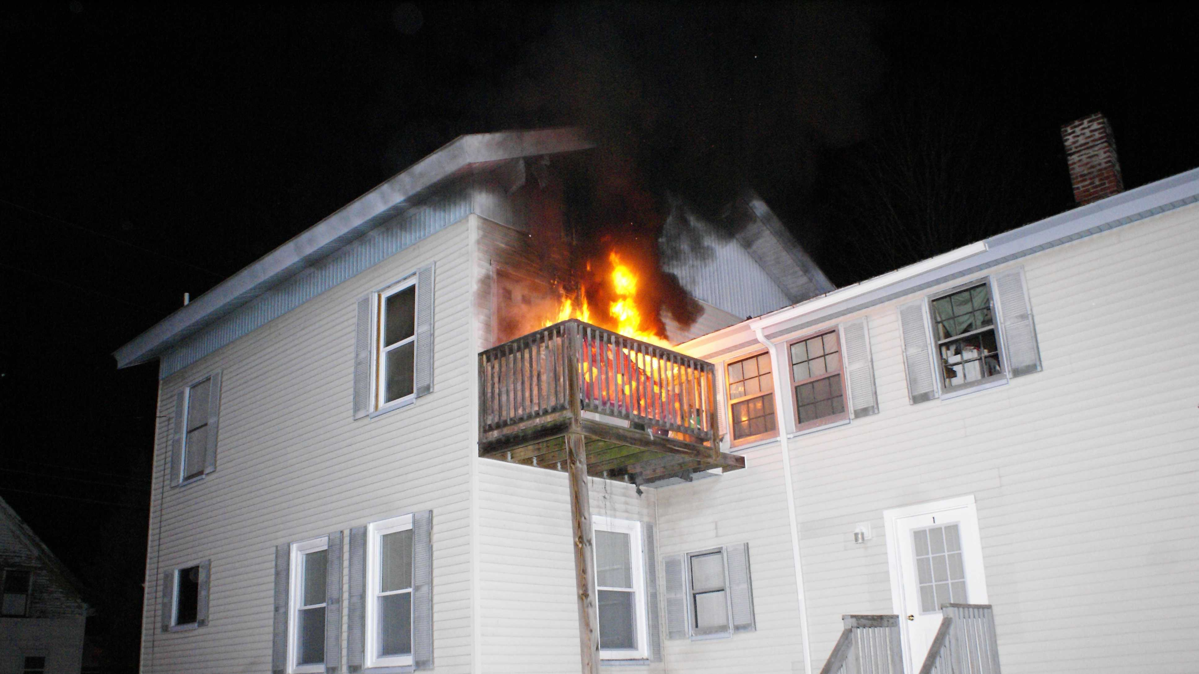 Norway apartment fire
