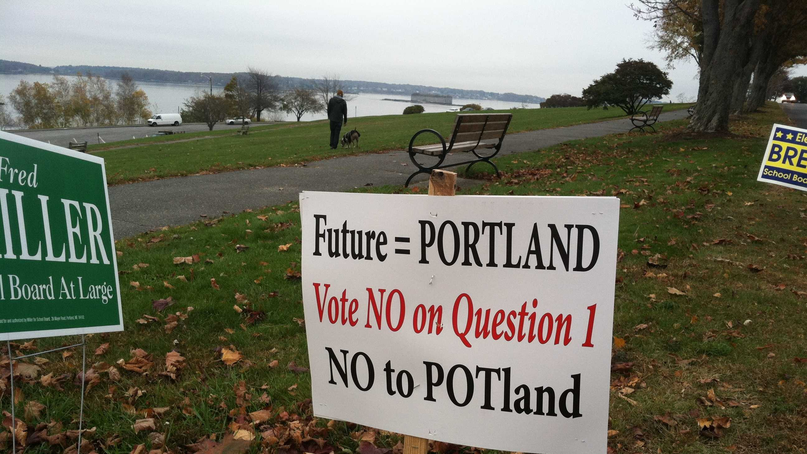 Anti-Pot campaign sign