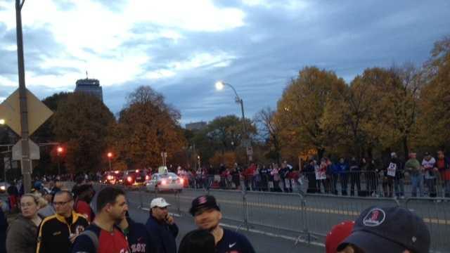 Red Sox Victory Parade