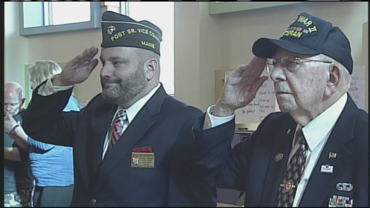 Ocean Avenue Elementary students honor veterans