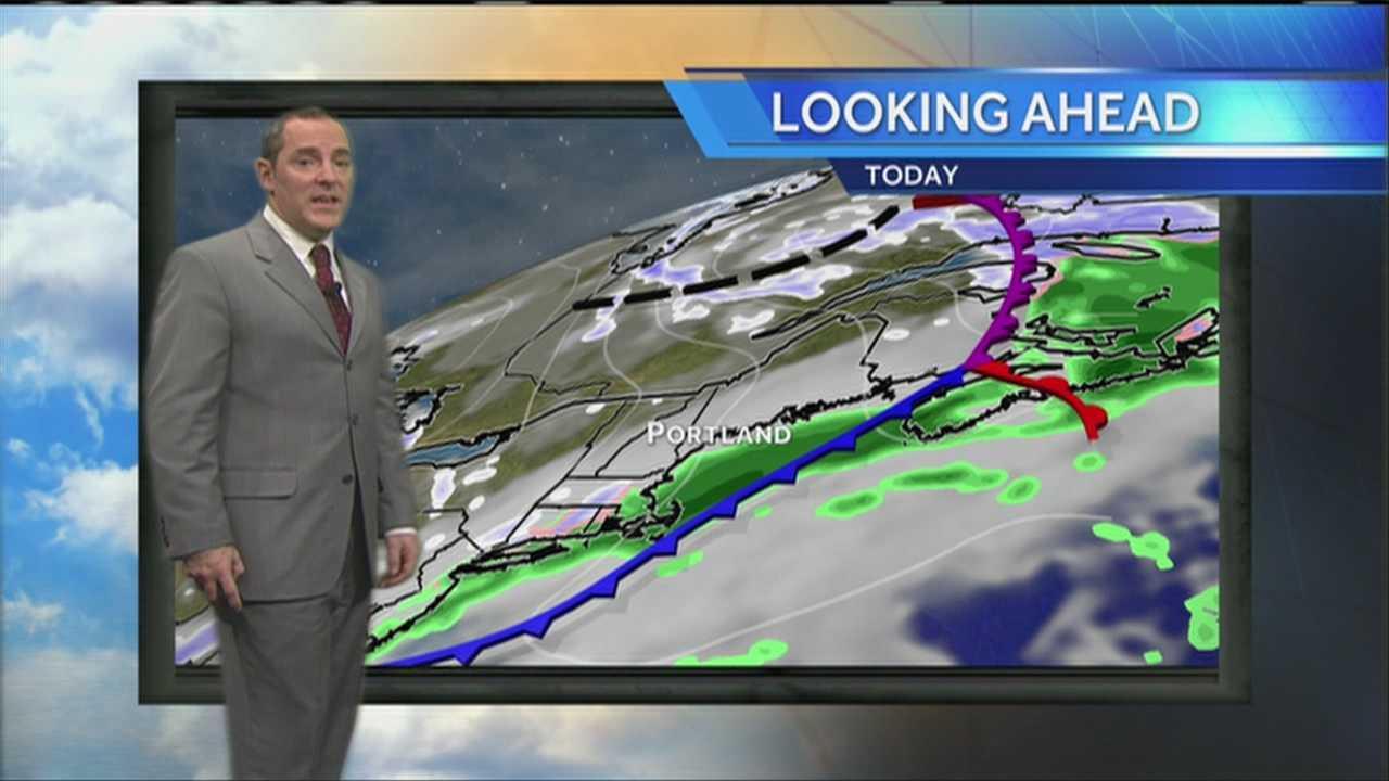 Matt's Tuesday Morning Weather Forecast