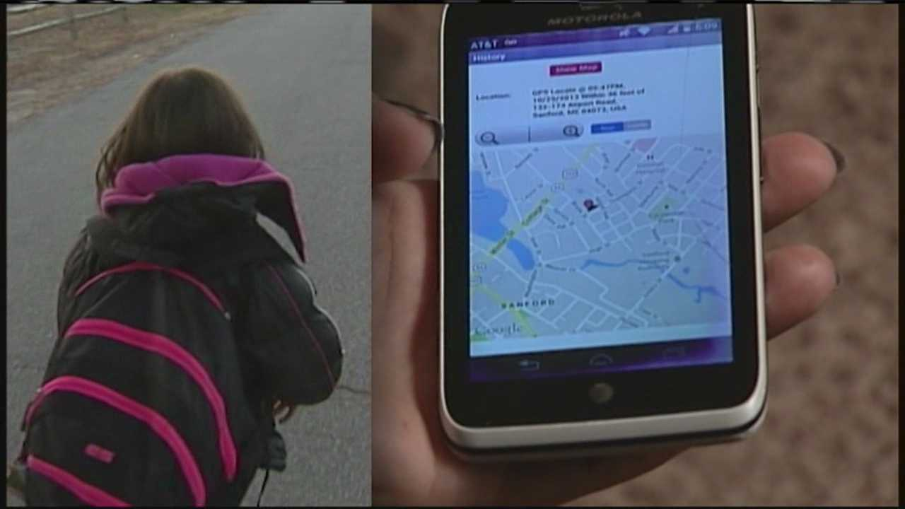 Parents tracking kids with help of new app