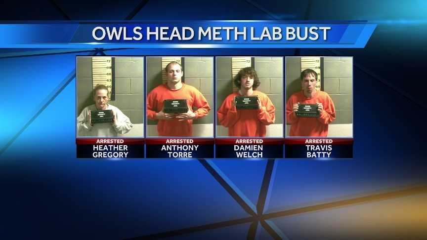 Owls Head Meth Lab Bust