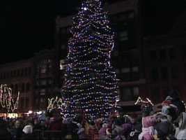 Portland Tree Lighting, November 27, 5:30 p.m., Monument Square.