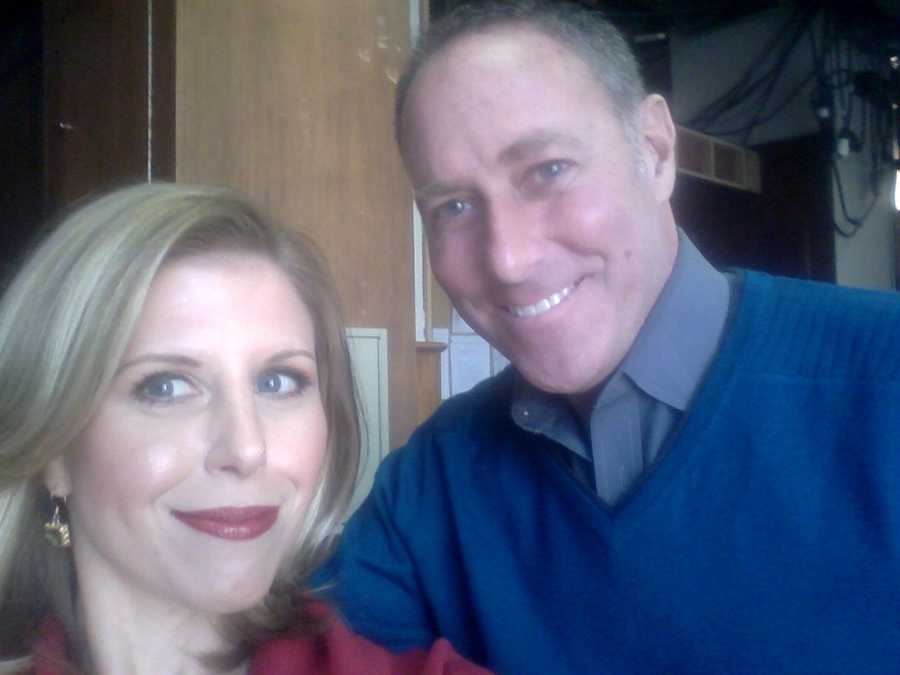 Anchor Tracy Sabol and Reporter Jim Keithley