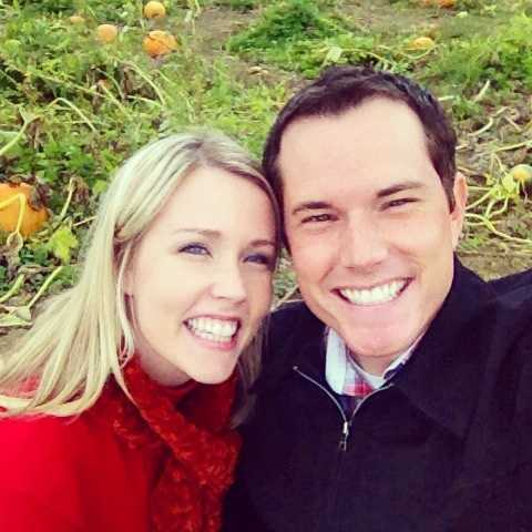 Anchor/Reporter Lindsay Liepman with her husband, WMUR Reporter Nick Spinetto.