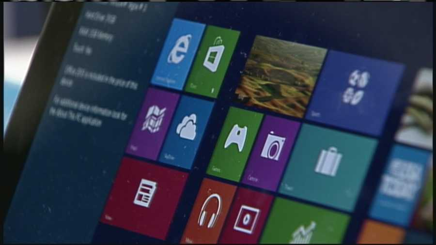 WMTW News 8's Norm Karkos takes a closer look at Microsoft's Surface Tablet. Click here to watch.