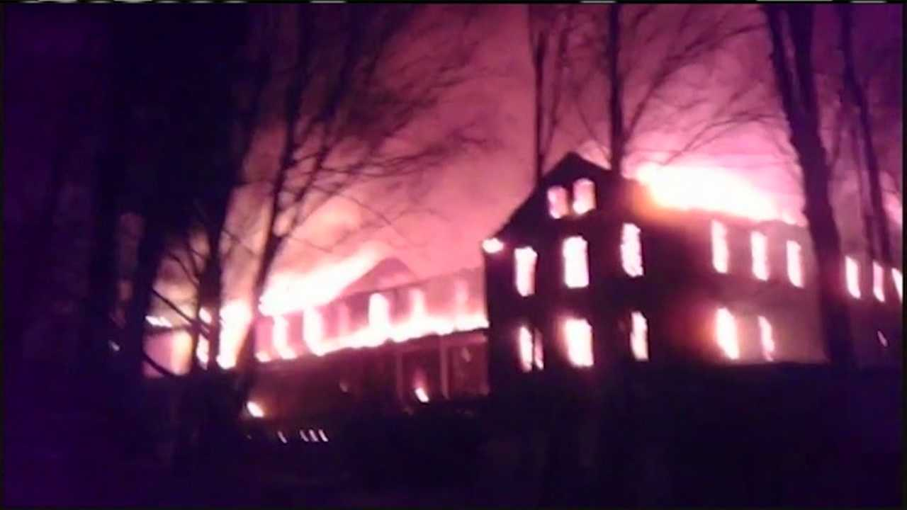 img-Island fire causes millions of dollars of damage