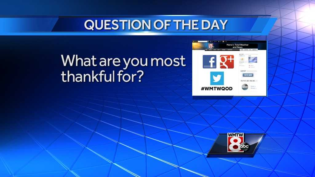 11/28 Question of the Day