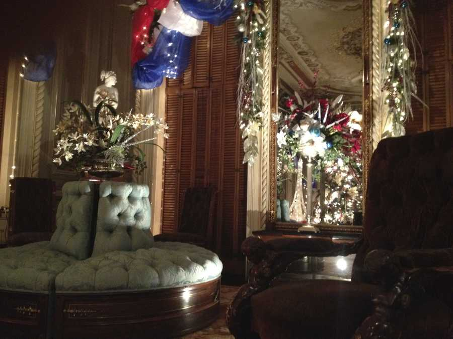 The Victoria Mansion is decked out for the holiday season. Click through to get a look inside.