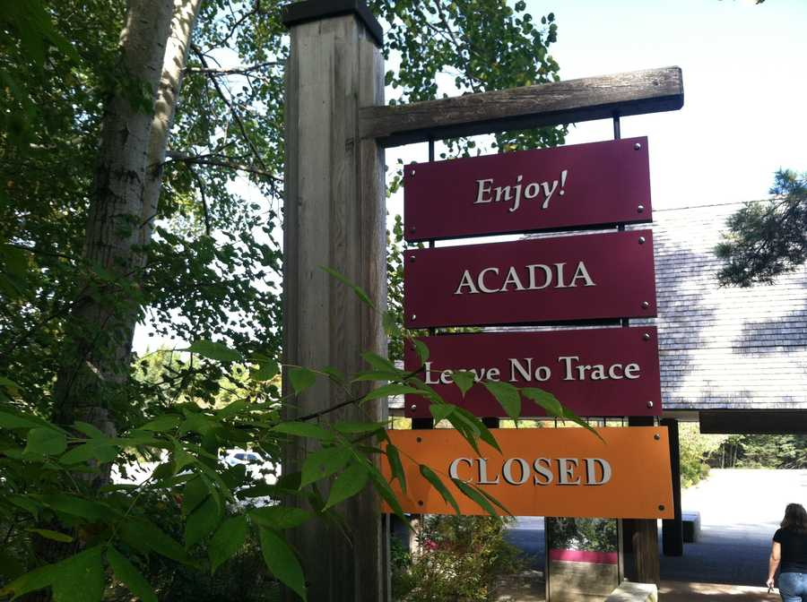 Due to the government shutdown, Acadia National Park was forced to closed on Oct. 1. The park reopened Oct. 17. Watch Katie Thompson's report.