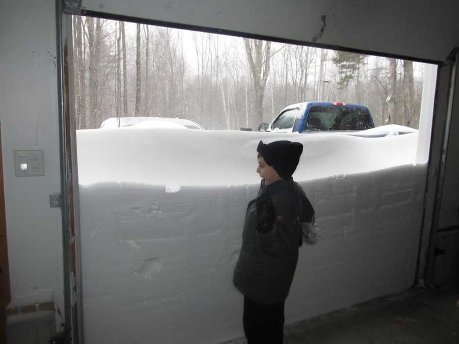 The blizzard of Feb. 8-9 dumped more than three feet of snow on some parts of Maine. Click to take a look back at pictures from the storm.