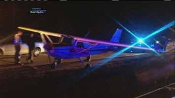 On Nov. 21, the pilot of a small plane made an emergency landing on Interstate 295 in Cumberland.  The plane landed on the southbound lanes during rush hour and did not hit any vehicles.  An investigation into the incident continues. Click here for video.