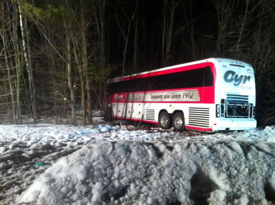 On Feb. 26, a bus carrying the University of Maine women's basketball team was involved in a crash in Georgetown, Mass. No one from the team was seriously hurt. Police believed the driver may have had a medical condition. Click here for more.