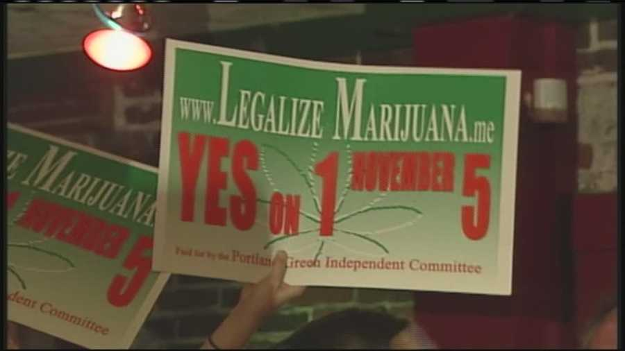 On Nov. 5, voters in Portland legalized the possession of marijuana in the city. Click here to watch the election night report
