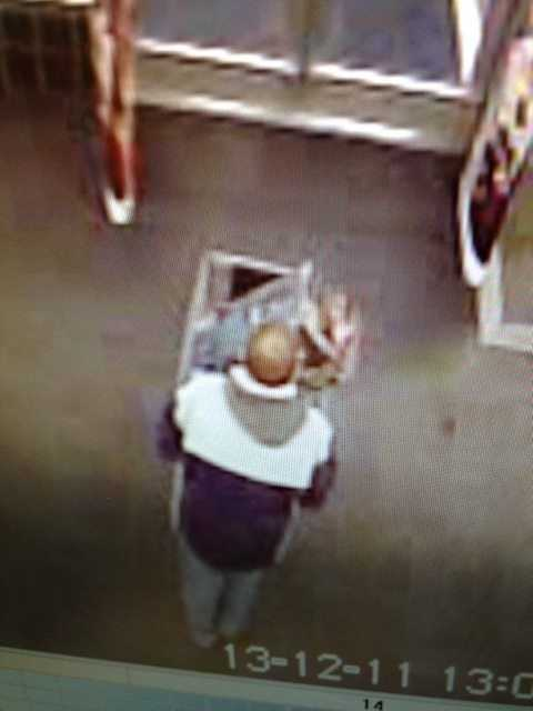 Police said just after 1:20 p.m., a man took off with the toys after being confronted by store security.