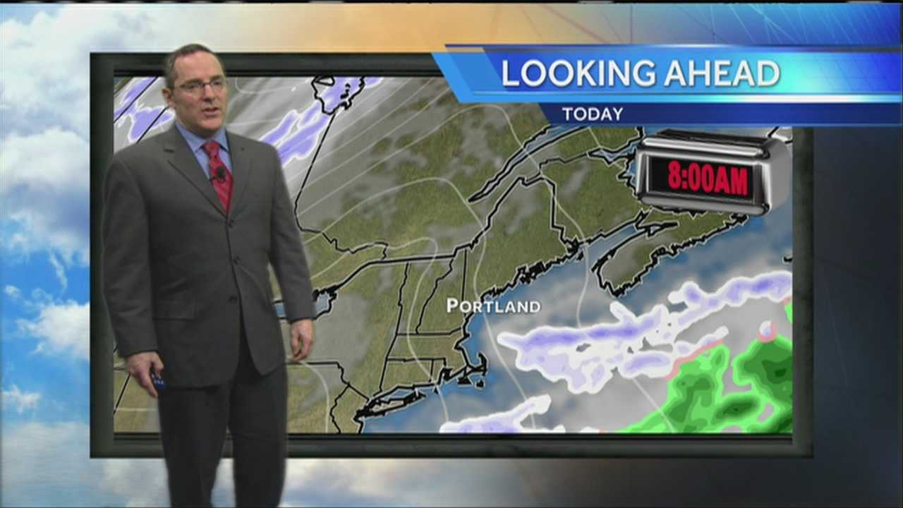 Matt's Friday Morning Weather Forecast