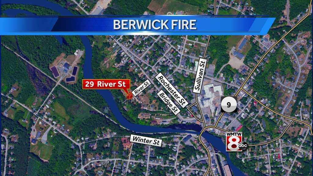 Berwick Fire Map