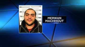 Merwan Machout is a suspect in two home invasions in Casco.