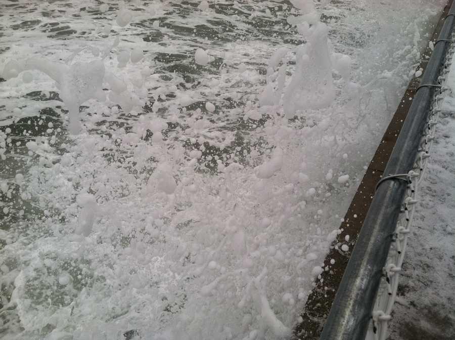 Wells Beach High Tide on Friday