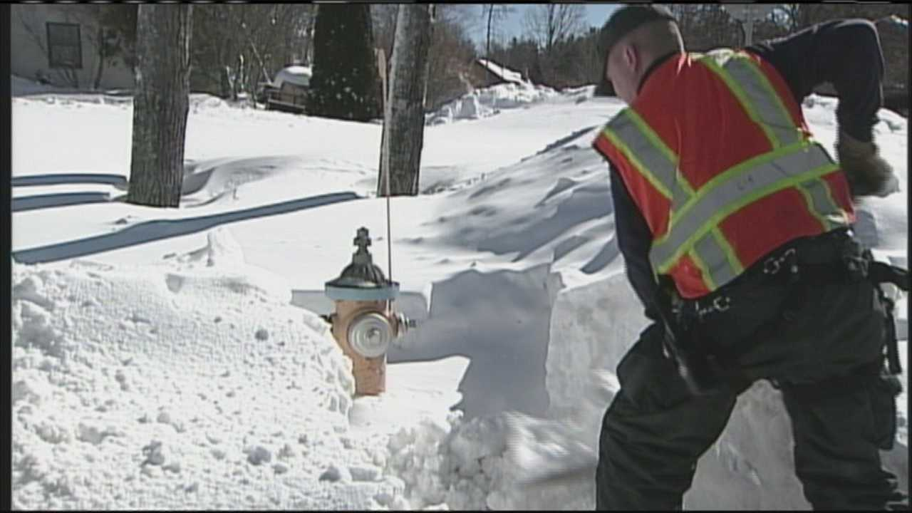 "Fire Department calls buried hydrant situation a ""state of emergency,"" as they pose safety hazard."