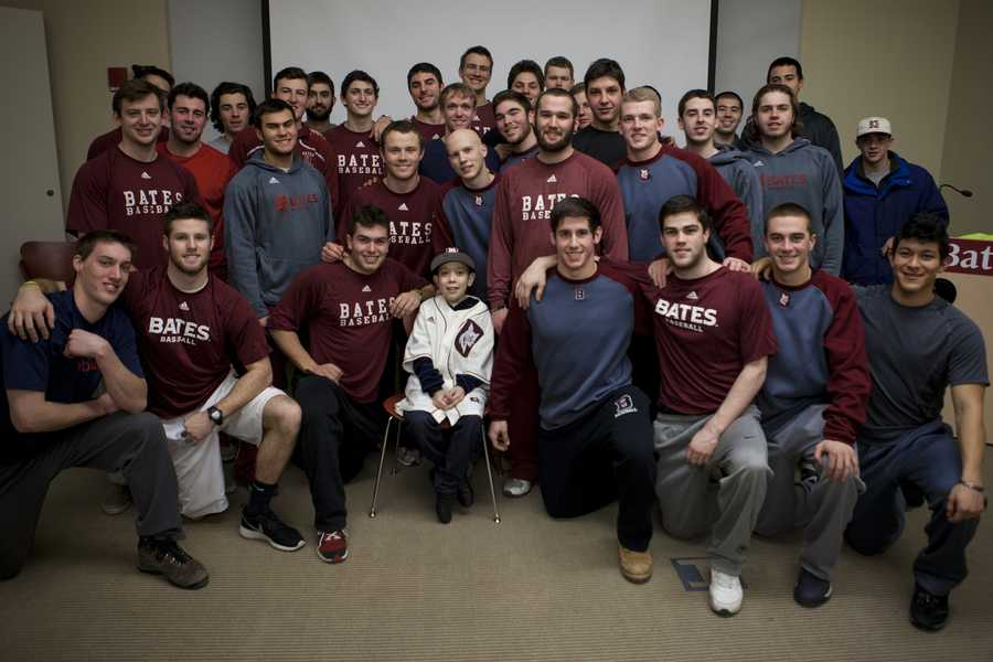 Two weeks before his death, Kobe was made an honorary member of the Bates College baseball team. Head coach Mike Leonard said the team was saddened to hear about the loss of their honorary player.