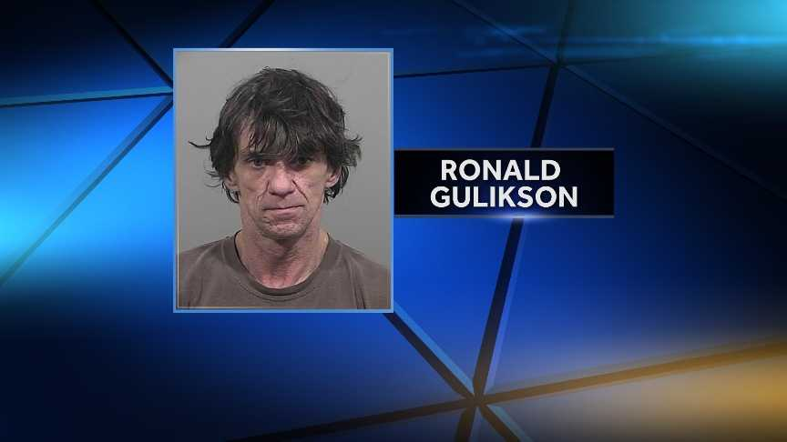 Ronald Gulikson is charged aggravated trafficking of schedule drugs