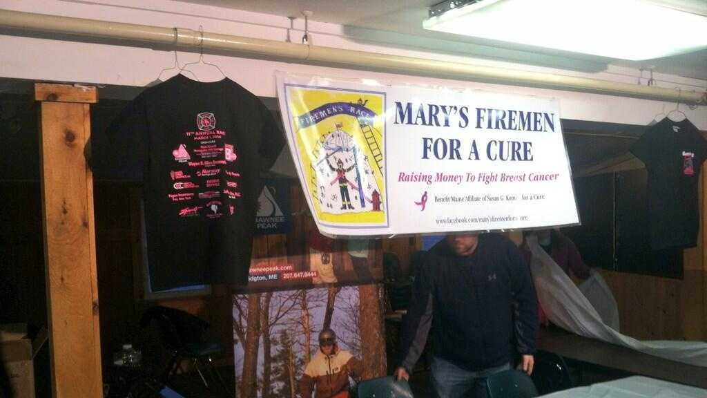 Teams of firemen from across Maine and New England will don full turnout gear and take to the slopes of Shawnee Peak to help raise money and awareness in the fight against breast cancer.