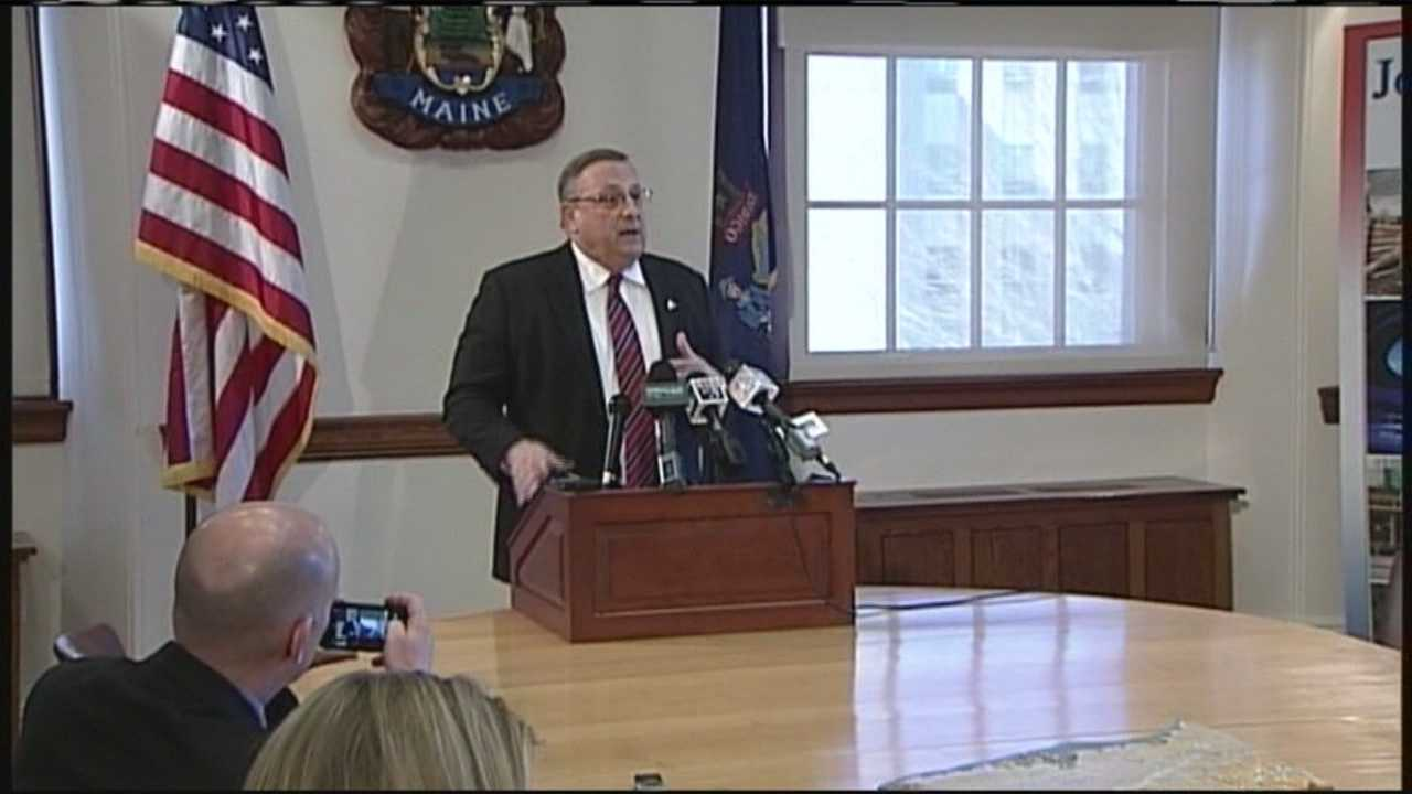 Governor LePage says he's crafting a plan to put money back in the state's rainy day fund after the legislature voted to take money out for municipal revenue sharing. WMTW News 8's Paul Merrill reports.