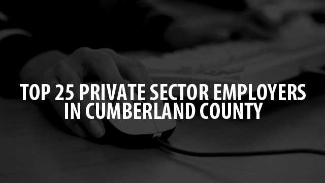 Check out the 25 companies and organizations that employ the most people in Cumberland County, according to numbers from the Maine Department of Labor.