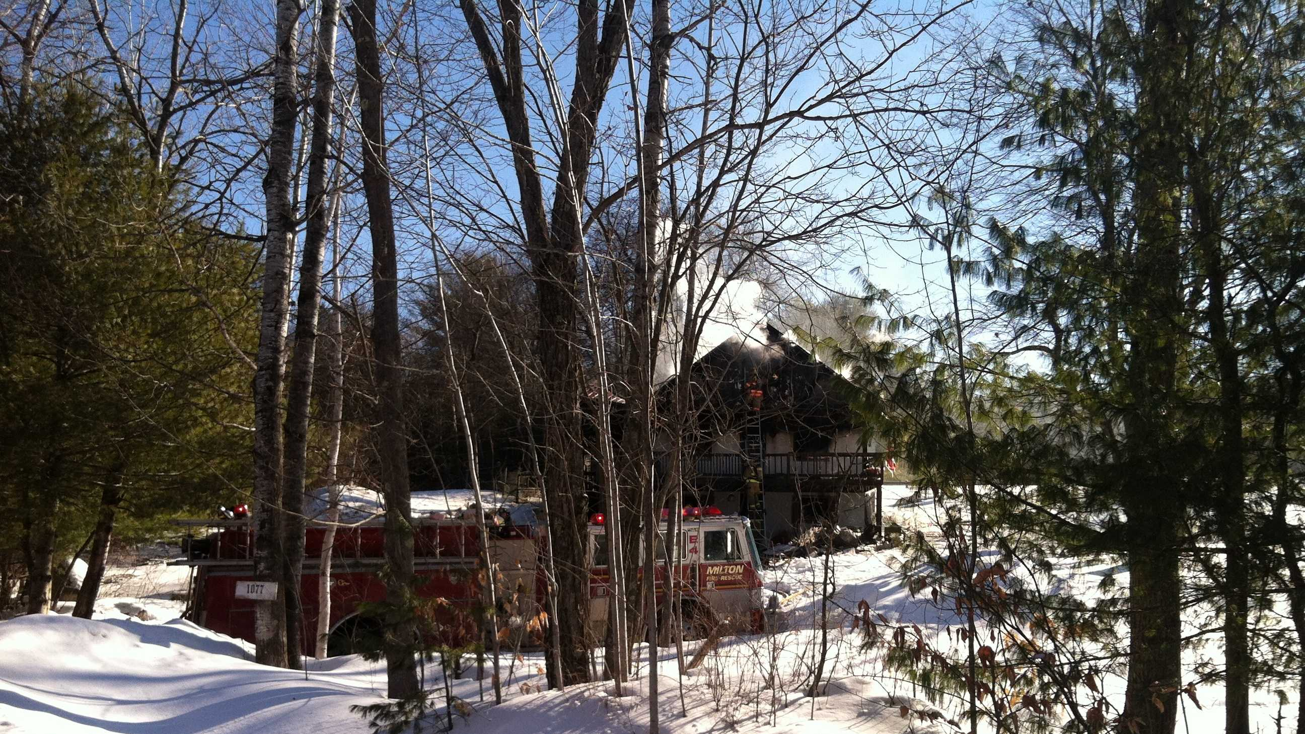 Acton house fire