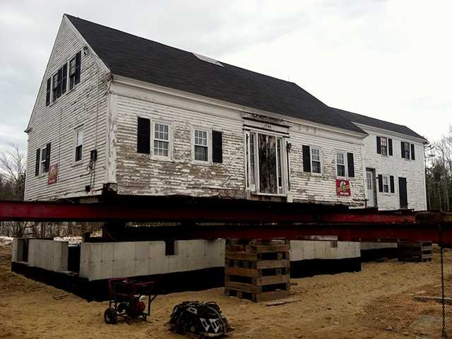 An Arundel farmhouse built when George Washington was president now has a foundation built this year.