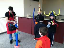 Saturday's Open House offered various children activities along with a tour of the facility