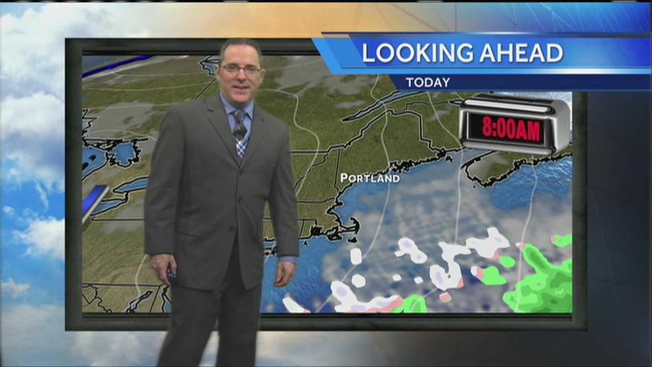 Matt's Monday Morning Weather Forecast